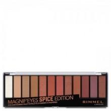 Paleta farduri de ochi Rimmel MagnifEyes Palette 005 Spice Edition