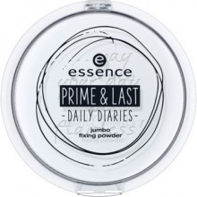 Pudra compacta Essence prime & last -daily diaries- jumbo fixing powder 01