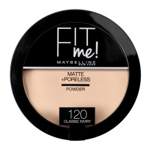 Pudra compacta matifianta Maybelline New York Fit Me Matte & Poreless 120 Classic Ivory 14g