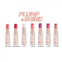 Ruj L'Oreal Paris Color Riche Plump&Shine Ruj volum instantaneu - 3.5g, 101 BLOW (Nectarine)