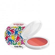 Fard de obraz Deborah Trio Blush Palette Keith Haring