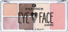 Fard de ochi Essence Eye & Face palette 01