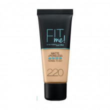 Fond de ten matifiant Maybelline New York Fit Me Matte & Poreless 220 30ml