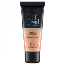 Fond de ten matifiant Maybelline New York Fit Me Matte & Poreless 320 Natural Tan 30ml