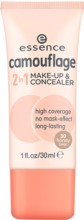 Fond de ten si corector Essence camouflage 2in1 make-up & concealer 30 30ml