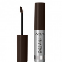 L'Oreal Paris Brow Artist Plumper mascara pentru sprancene 108, Dark Brunette, 7ml