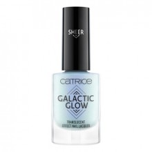 Lac de unghii Catrice GALACTIC GLOW TRANSLUCENT EFFECT NAIL LACQUER 01 Night-Time Stargazing
