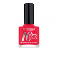 Lac de unghii Deborah 10 Days Long Nail Enamel 870 Coral Red