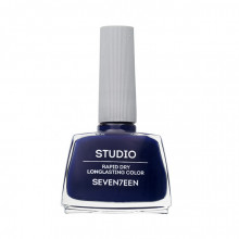 Lac de unghii Seventeen STUDIO RAPID DRY LASTING COLOR No 50 Dark Blue