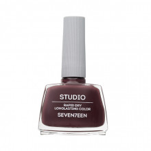 Lac de unghii Seventeen STUDIO RAPID DRY LASTING COLOR No 56 Cold Brown