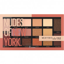 Paleta farduri de ochi Maybelline New York Nudes Of New York, 18g