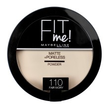 Pudra compacta Maybelline Fit Me Matte & Poreless 110 Fair Ivory 14g