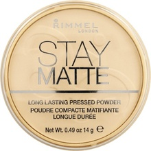 Pudra Rimmel Stay Matte, 001 Transparent
