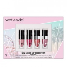 Set Wet n Wild Mini Liquid Lip Collection