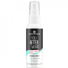 Spray pentru fixarea machiajului Essence YOU BETTER WORK! FIXING SPRAY