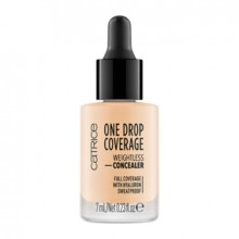 Corector Catrice ONE DROP COVERAGE WEIGHTLESS CONCEALER 010 Light Beige
