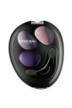 Fard de pleoape Deborah Trio Hi-Tech Eyeshadow 04 Purple Deluxe, 2.2 g