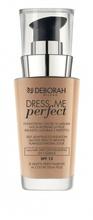 Fond de ten Deborah Dress Me Perfect FDT 02 Beige, 30 ml