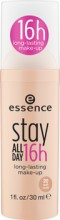 Fond de ten Essence stay all day 16h long-lasting make-up 20 Soft Nude 30 ml