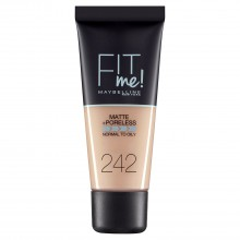 Fond de ten matifiant Maybelline New York Fit Me Matte & Poreless 242 Light Honey 30ml