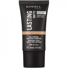Fond de ten Rimmel LASTING MATTE foundation - 200 Soft Beige