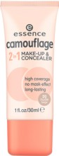 Fond de ten si corector Essence camouflage 2in1 make-up & concealer 20 30 ml