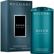 Gel de dus BVLGARI Aqva pour Homme, 200 ml