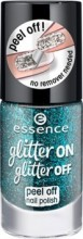 Lac de unghii Essence glitter on glitter off peel off nail polish 06