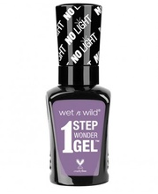 Lac de unghii Wet n Wild 1 Step Wonder Gel Nail Color Lavender Out Loud, 7 ml