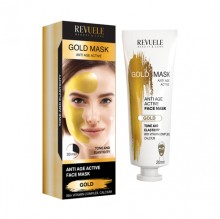 Masca cu efect anti-imbatranire Revuele gold mask lifting effect 80ml