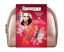 Mascara Rimmel ScandalEyes Reload + Magnif'Eyes Double Liner 005
