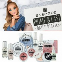 Pudra compacta Essence prime & last -daily diaries- jumbo fixing powder 01