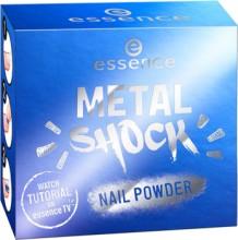 Pudra pentru unghii Essence metal shock nail powder 05 Under the sea