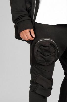 Trening Barbati Slim Fit Negru Streetwear Stil Vagabond Editie Limitata MT2