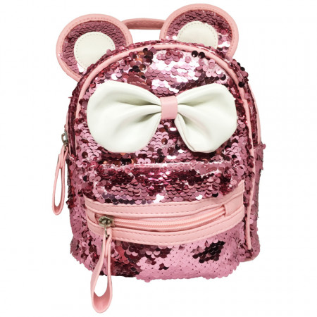 Rucsac, Paiete, Pink World, Piele Ecologica