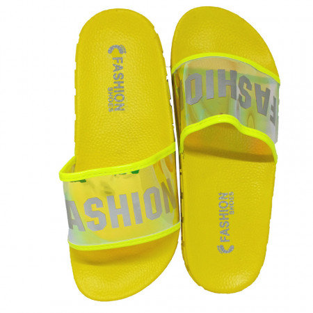 Papuci Plaja, Holo, Fashion summer, Yellow
