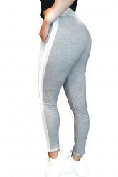 Pantaloni trening dama, Gri deschis