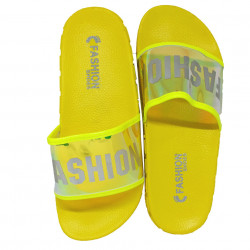Papuci Plaja, Holo, Fashion summer, Yellow