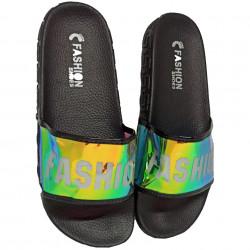 Papuci Plaja, Holo, Fashion summer, Black