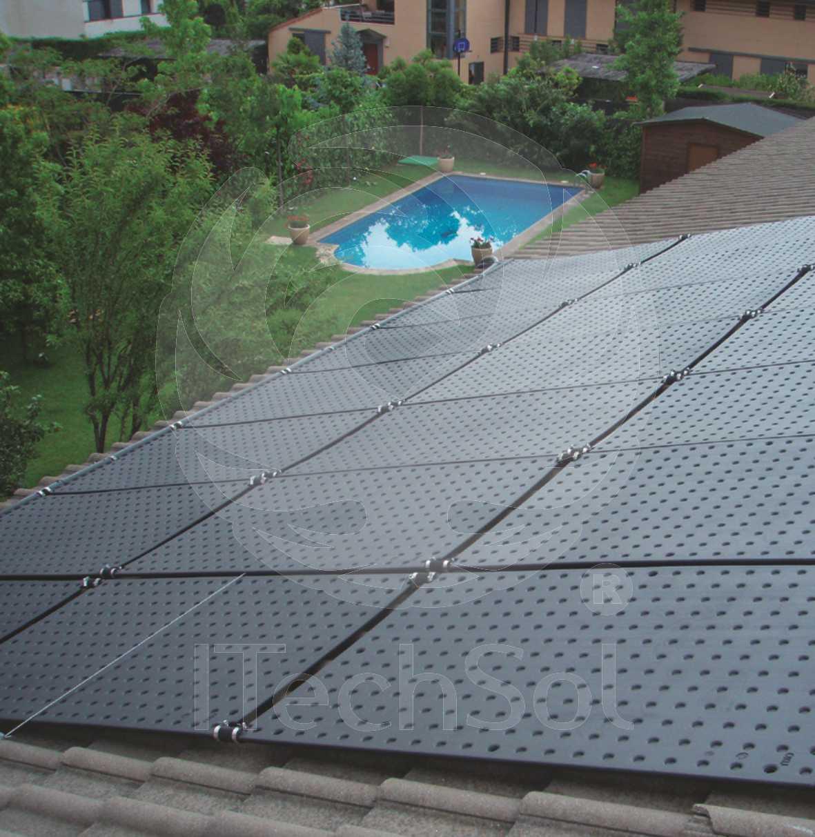 Panouri solare OKU pentru piscina