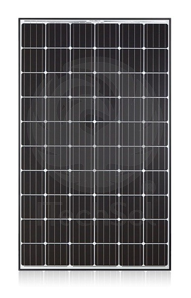 panou solar fotovoltaic policristalin q cells 280 w rama neagra. Black Bedroom Furniture Sets. Home Design Ideas
