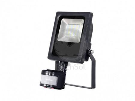 Proiector (reflector) LED 10W 12V cu senzor de lumina si miscare