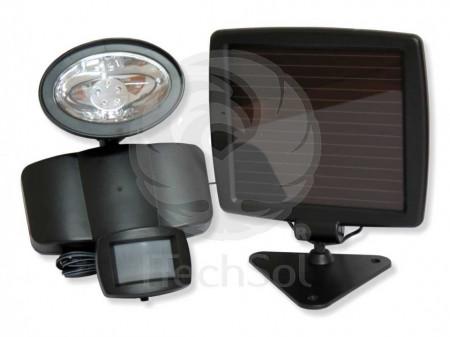 Proiector Reflector Led Cu Senzor De Miscare Si Alimentare Solara
