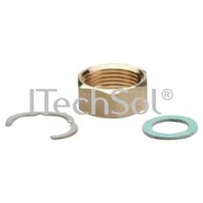 "Set pentru instalarea tevilor flexibile din otel inoxidabil 1/2"" (DN12)"