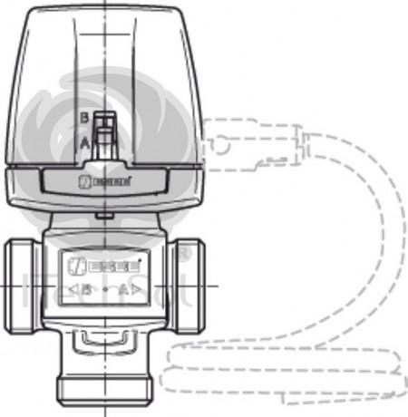 """Ventil de zonă cu 3 căi motorizat ON/OFF VZC162-3/4"""" sau VZC162-1"""""""