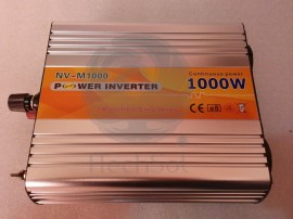 Invertor undă sinus modificată 1000W 12-220V  ITechSol®
