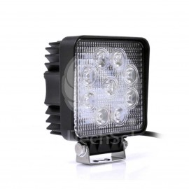Proiector (reflector) LED 27W 12-30V compact