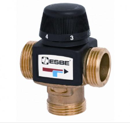 ESBE VTA372-1 Ventil termostatic de amestec pentru ACM și încălzire în pardoseală