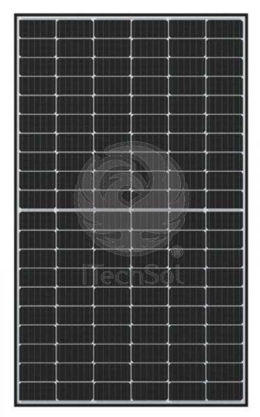 Panou solar fotovoltaic monocristalin Q.PEAK DUO-G5   315 W rama neagra   tehnologia Half Cells