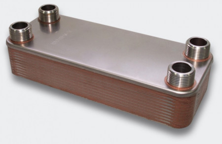 Schimbător de căldură cu plăci - 125KW